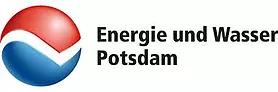 Logo des Unternehmens Energie und Wasser Potsdam