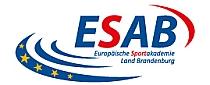 """Logo der Europäischen Sportakademie Land Brandenburg """"ESAB"""""""